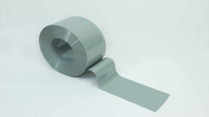Bobina de PVC Cinza