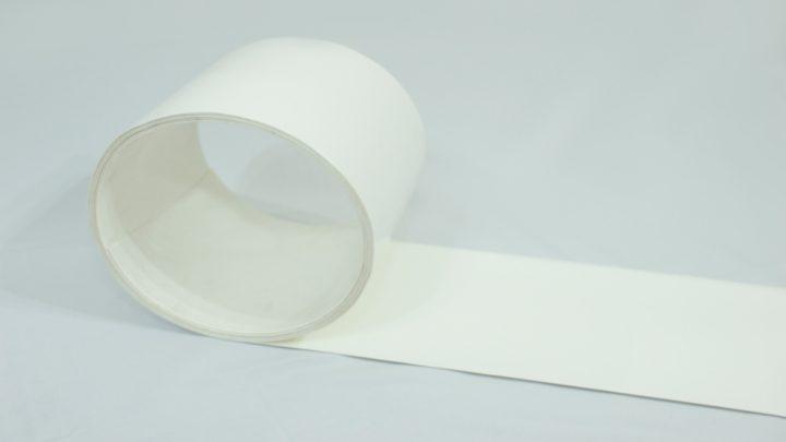 Bobina de PVC branco