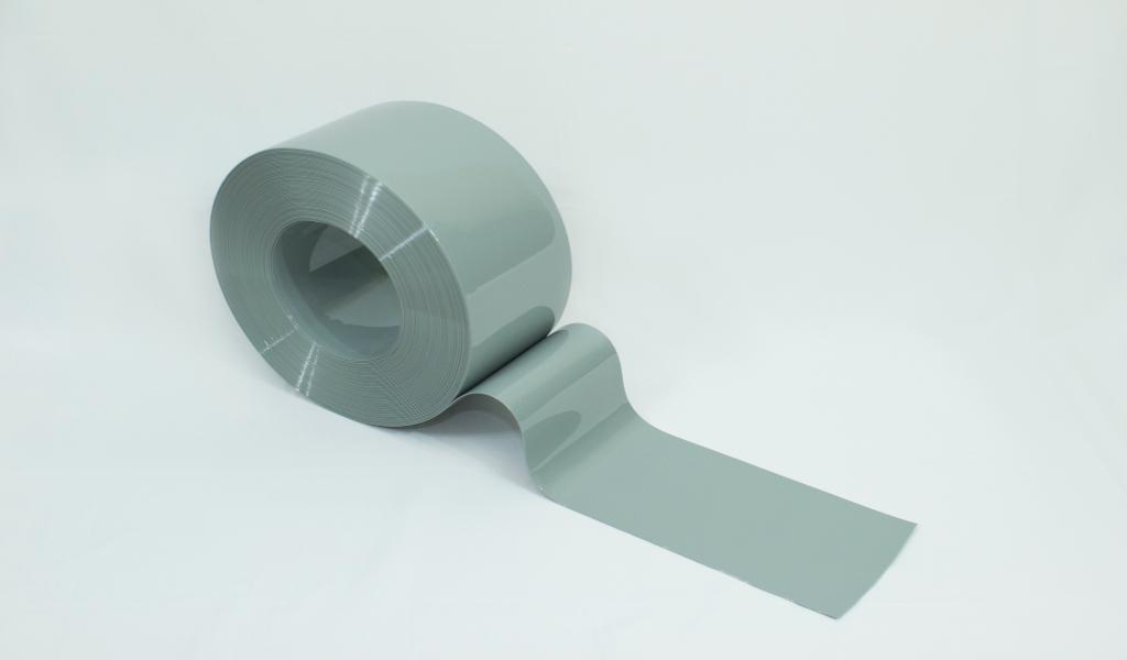 Bobina de PVC Cinza opaco